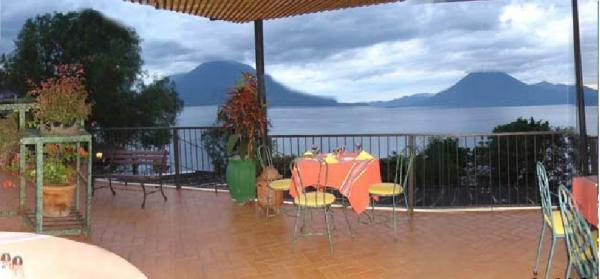 Scenic views of Lake Atitlan