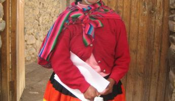 Ollantaytambo native