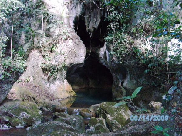 Entrance of Actun Tunichil Muknal Cave