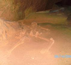 The Crystal Maiden in the Actun Tunichil Muknal cave