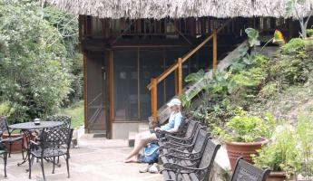 Relaxing at Pook\'s Hill in Belize\'s Maya Mountains