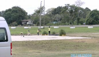 Recess at the Garifuna School in Belize