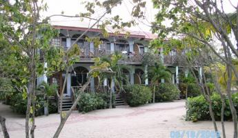Beachfront rooms at Hamanasi Belize