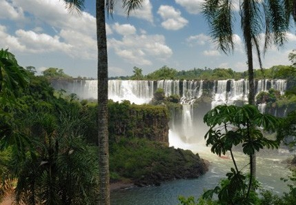 The only hotel located within Iguassu National Park