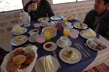 Breakfast buffet included in accommodations