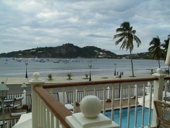 Located harbour side in San Juan del Sur