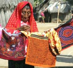Mola - world famous Kuna handicraft