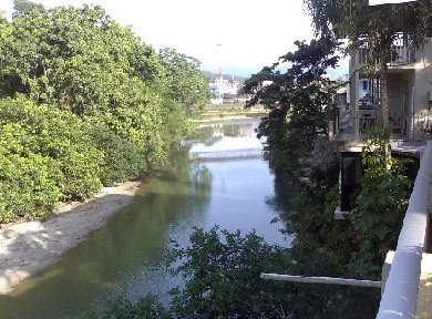 Balcony view of the Pano River