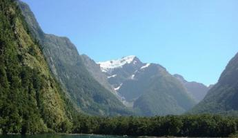 Pristine Milford Sound, New Zealand