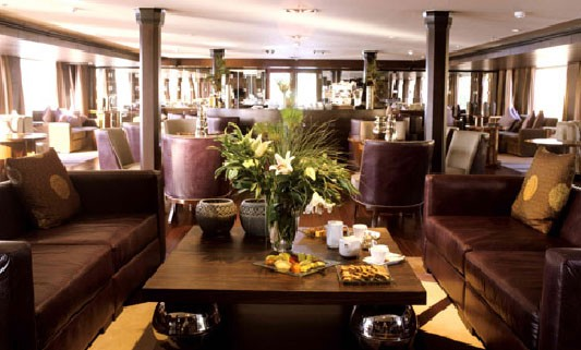 Linger over afternoon tea in the Lounge