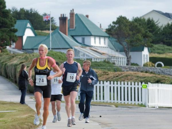 Stanley Marathon in the Falklands