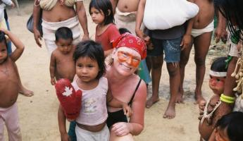 Making new friends in the Amazon
