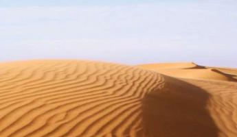 The rolling dunes of Western Sahara