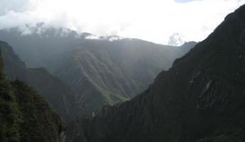 Mountains in Machu Picchu