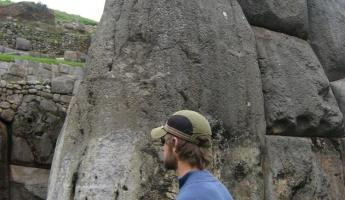 Largest rock in Sacsayhuaman