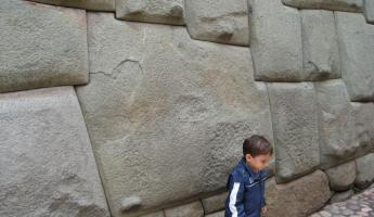 Incan stone cut with 12 corners