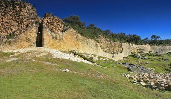 Fortress at Kuelap ruins