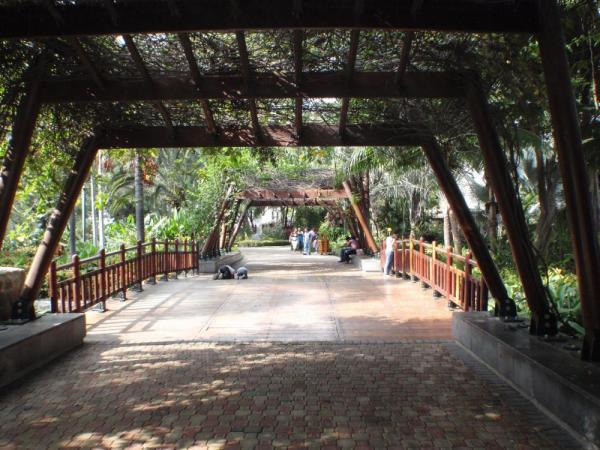 Guayaquil - waterfront gardens