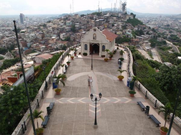 Guayaquil from above!