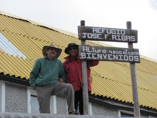 Made it to 14,400 feet on Cotopaxi!