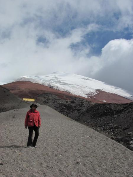 Cotopaxi: Coming down from Base Camp on jelly legs