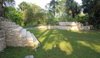 The Mayan residential site located on the property at Pook\'s