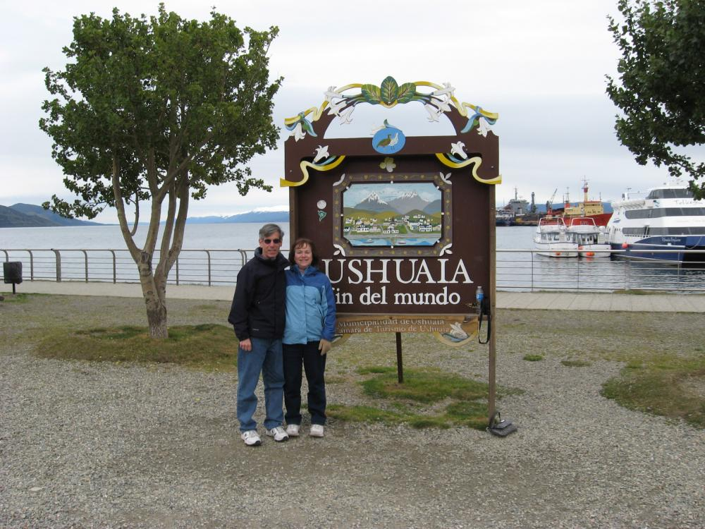 At the End of the World in Ushuaia