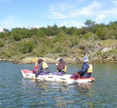 Canoeing in Tierra del Fuego National Park