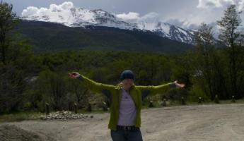 Beautiful day for a hike in Tierra del Fuego