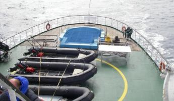 Crossing the Drake Passage