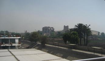 Kom Ombo Temple from a distance