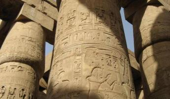 The amazing carvings of the Karnak Temple