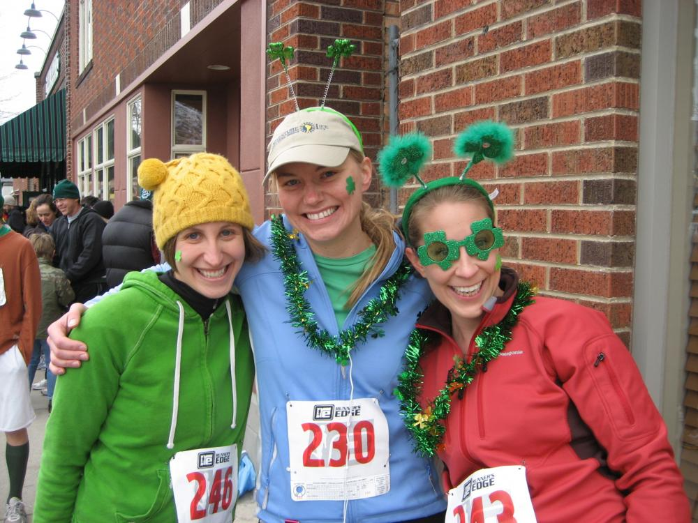 St. Patty\'s Race with our fellow Adventure Lifers!