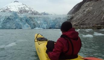 Kayaking around Alaska