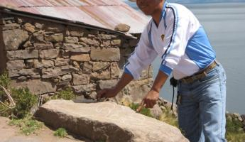 our guide on Taquile Island