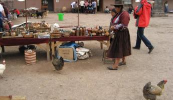chickens & handicrafts