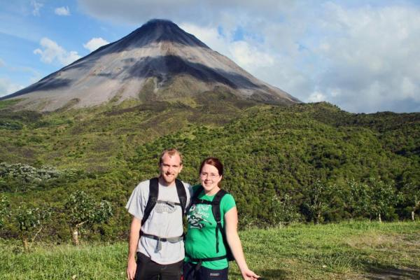 Hiking in Arenal National Park
