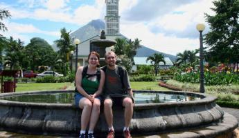 Shopping in La Fortuna after ziplining
