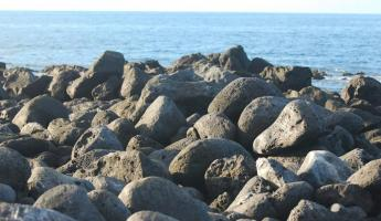 Volcanic Boulders, a reminded of time gone by