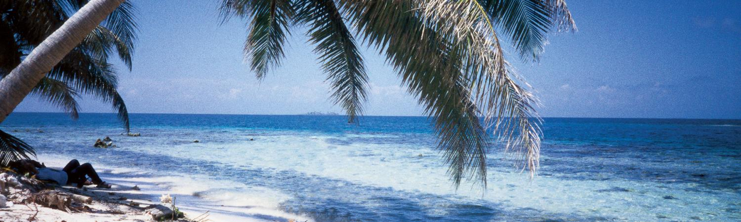 White Sandy Beaches in Belize