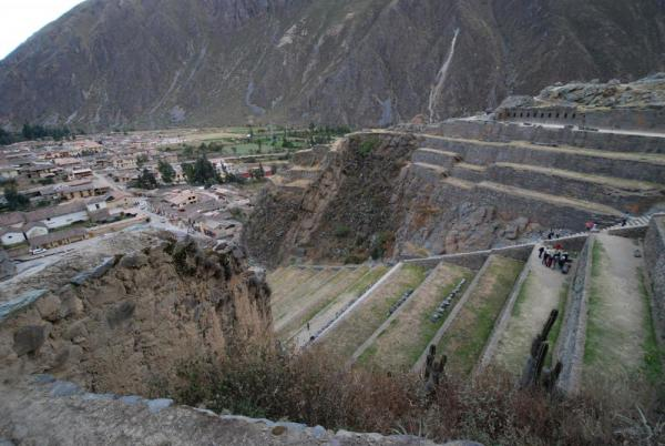 Ollantaytambo and terraces