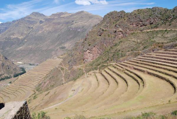 Terraces of Pisac-Peru
