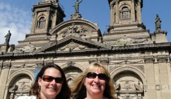 Margy and I in Santiago