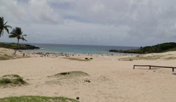 Beach at Easter Island