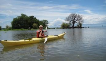 Kayaking the Isletas