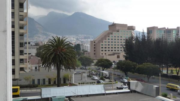 Quito - View from Hotel Eugenia