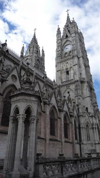 Basilica in Old Quito - Quito day tour