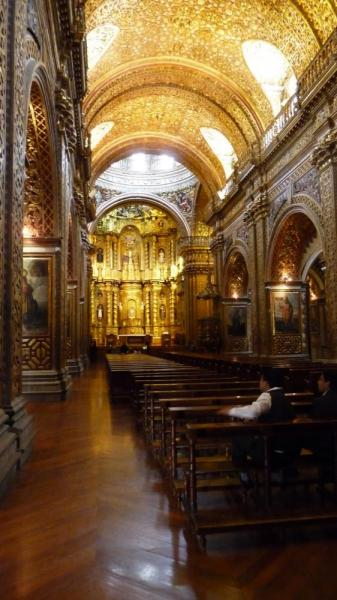 Church of Gold - Quito day 1