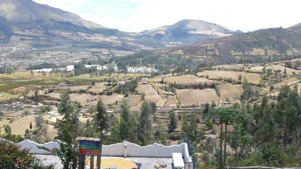 Beautiful landscape - Otavalo Trip