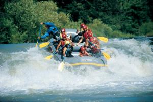 Whitewater rafting adventure on Chile's Rio Futaleufu